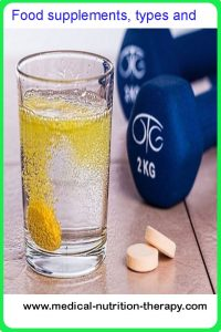 Food supplements, types and harms