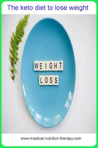 The keto diet to lose weight
