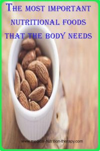 The most important nutritional foods that the body needs daily