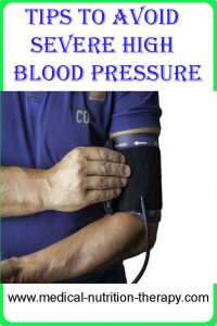 Tips to avoid severe high blood pressure
