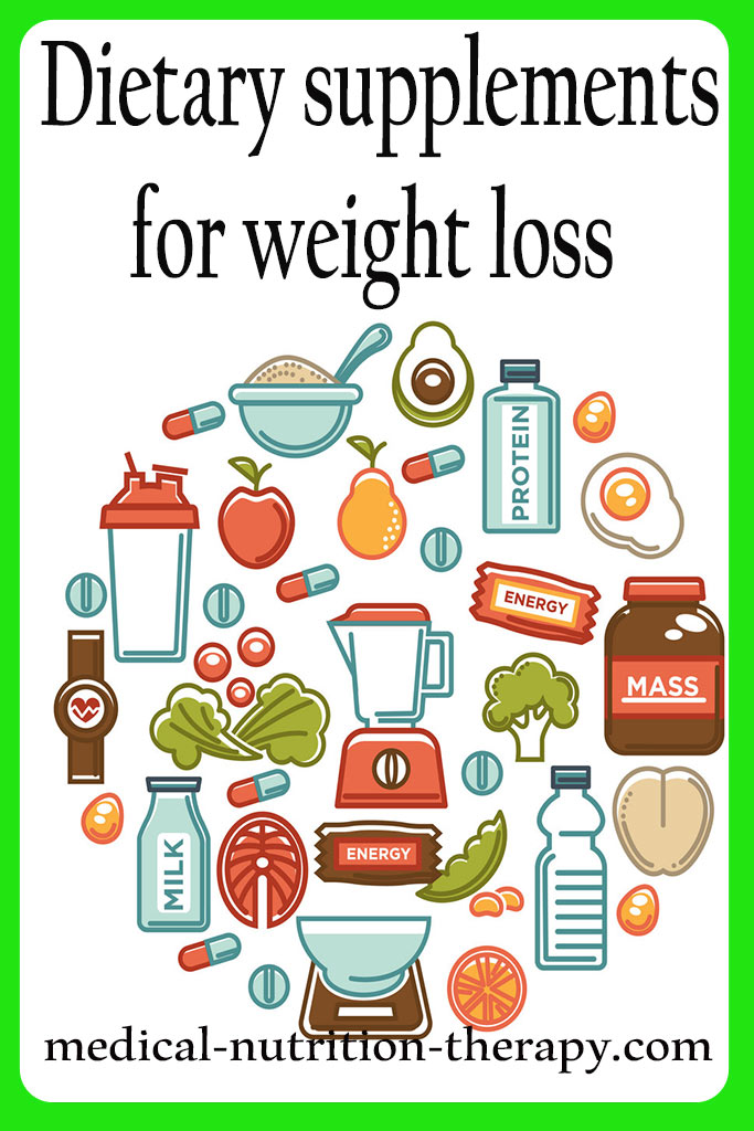 Dietary supplements for weight loss