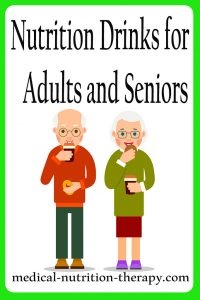 Nutrition Drinks for Adults and Seniors
